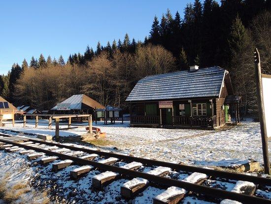 Cierny Balog, Slowakei: Lesnický skanzen Vydrovo