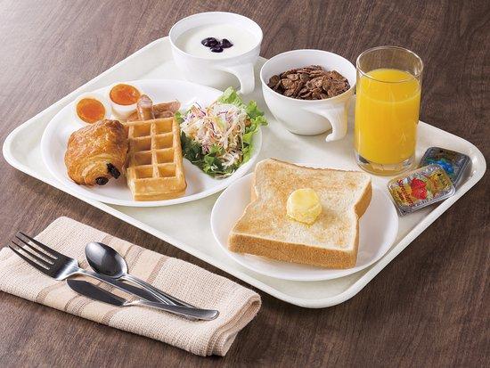 Higashiomi, Japón: 朝食