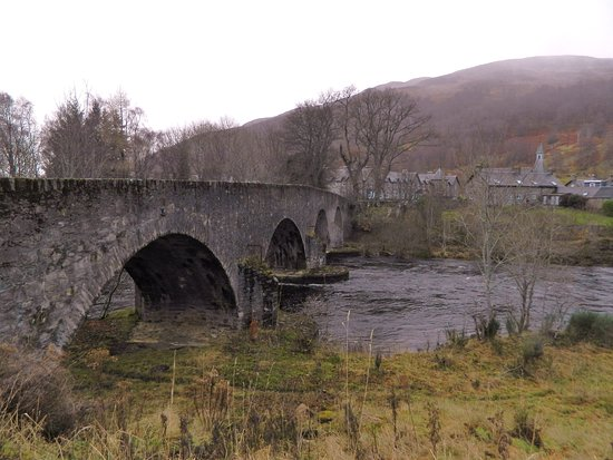 Kinloch Rannoch - Thomas Telford bridge since 1764