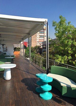 Condesa DF: Rooftop restaurant