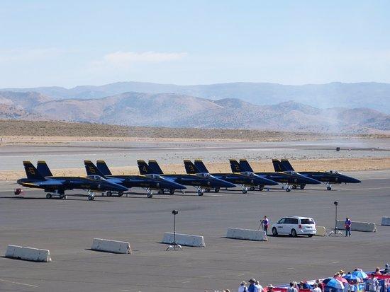 Reno Air Racing Association: 9/17/16 Blue Angels (obviously)