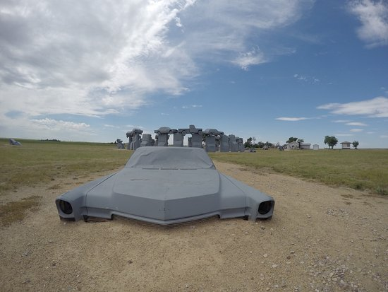 Alliance, NE: Carhenge!