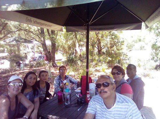 Healesville, Australia: A la hora del picnic, se encuentran un sitio especial para ello