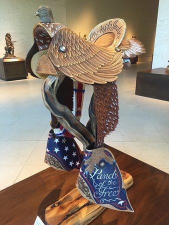 Cartersville, Geórgia: Patriotic Saddle