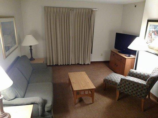 East Syracuse, Estado de Nueva York: Living Room in Double Room Suite