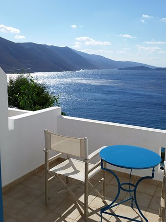 Aegiali, Greece: each room has a balcony with this view!!!