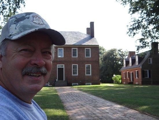 Fredericksburg, Virginie : Fred Lewis great, great, great, great, great ... grandson of Fielding and Betty Lewis