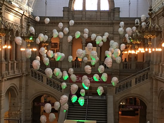 Kelvingrove Art Gallery and Museum: The view from above.