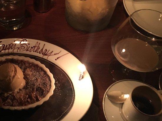 Blue Duck Tavern: Birthday 'surprise'