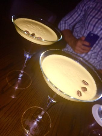 Glass Brasserie: to end the night - espresso martinis