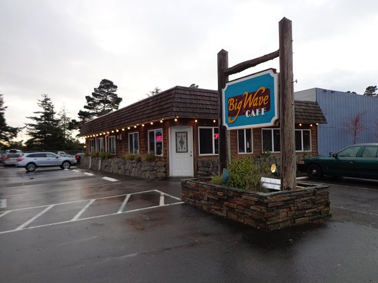 Big Wave Cafe: Exterior front to right