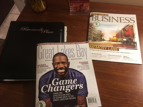 Gladwin, MI: Catalog and regional magazines.