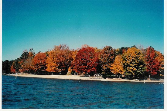 Waxhaw, NC: Cane Creek swimming area and beach