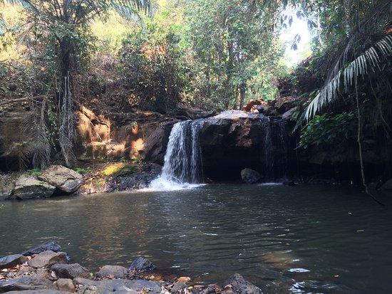 Sen Monorom, Kamboçya: The waterfall you visit on fridays