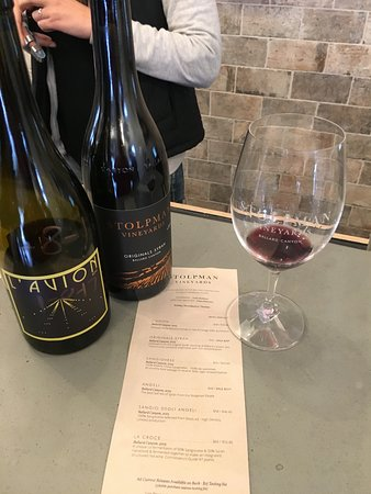Stolpman Vineyards: Yummy tasting