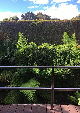 La Inmaculada Hotel: Garden view from the suit