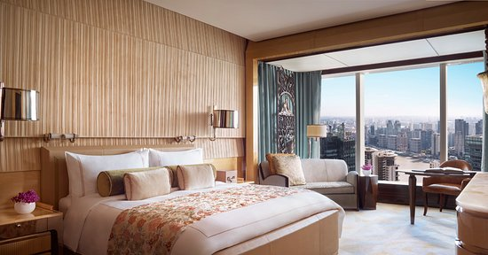The Ritz-Carlton Shanghai, Pudong: Deluxe Room
