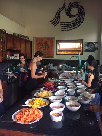 Lautan Kupu - Kupu Villas: Beautiful breakfast everyday!