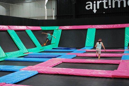 Launceston, Australia: General trampoline play area