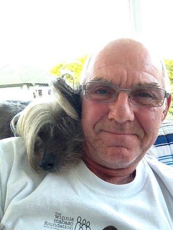 Cafetin Claudia : Me and ma dog jasper