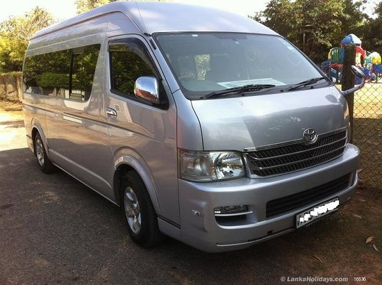 Toyota Hiace van - Picture of Sri Lanka Private Driver