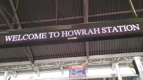 Howrah, India: WELCOME BOARD