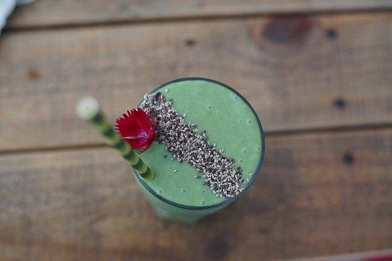 Caloundra, Australia: Greenhouse green smoothie