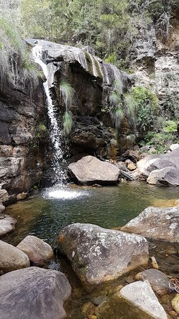 Blackheath, Australia: Waterfall below Campbells Falls.