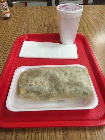 Merced, CA: big burrito