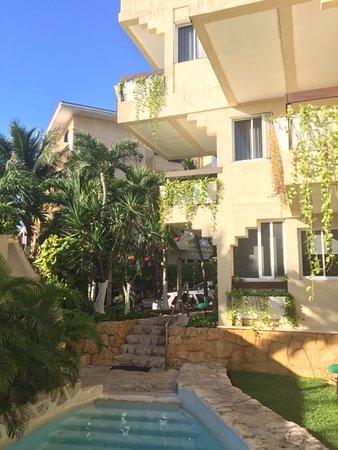 Hotel Labnah: Rum ut mot Calle 2