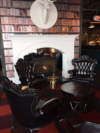 Saint Louis Park, MN: SEATING BY THE FIREPLACE
