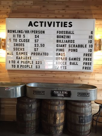 Saint Louis Park, MN: ACTIVITY PRICES