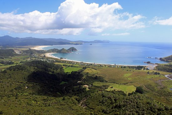 Great Barrier Island, Yeni Zelanda: Medlands Beach