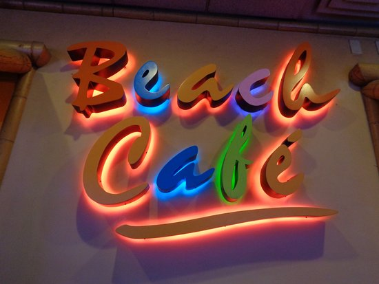 Beach Cafe Menu Laughlin