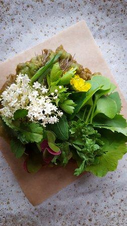 Lummi Island, WA: Salad