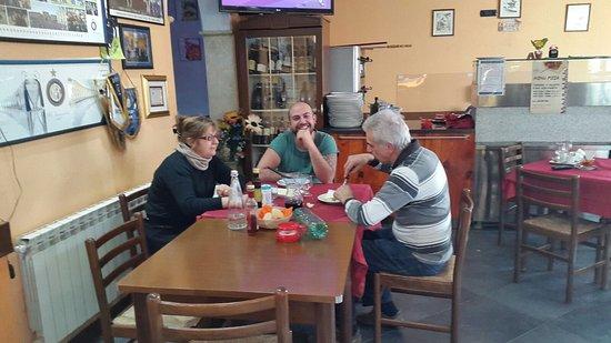Viggiu, Italien: Pranzo delizioso in compagnia del super staff della trattoria delizia