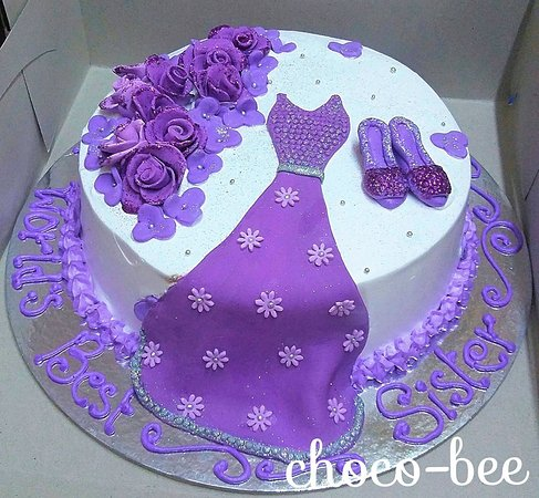 Designer cake for her Picture of Choco Bee Noida TripAdvisor