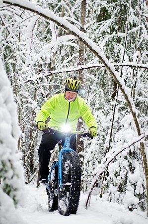 Jarvenpaa, Finnland: Fatbike & Fun with snow
