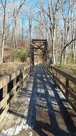 Whitesburg, GA: Trestle Bridge