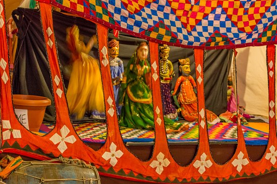 Arna Jharna: The Desert Museum of Rajasthan: Puppet show