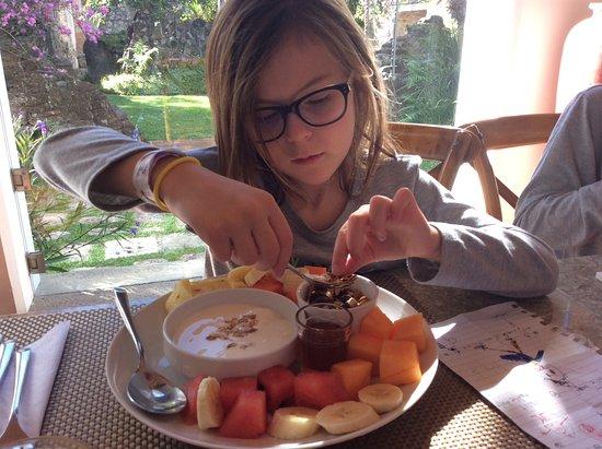 Hotel Cirilo: Healthy breakfast