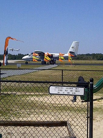 DeLand, FL: Dive plane