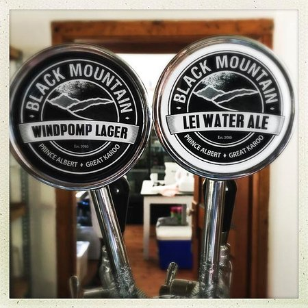 Prince Albert, Sudáfrica: Black Mountain Beers - a taste of pure craft in the Karoo