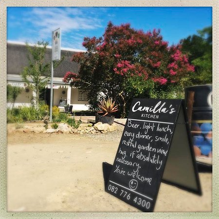 You're welcome at Camilla's Kitchen in Prince Albert.