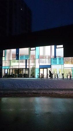 Herning, Denmark: DGI-Huset er især et besøg værd her om vinteren, når vejret er koldt, vådt og gråt.