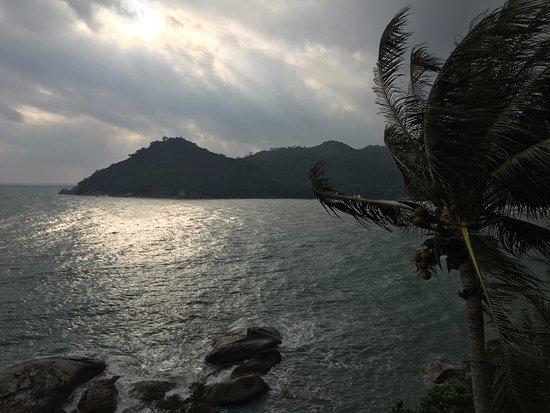 Panviman Resort - Koh Pha Ngan: Blick von unserer Villa auf die Bucht