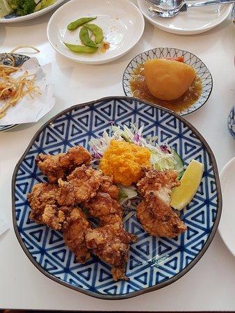 Collingwood, ออสเตรเลีย: Kara Age Teishoku-Crispy chicken