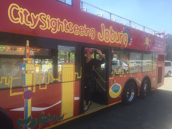 City Sightseeing Joburg Photo
