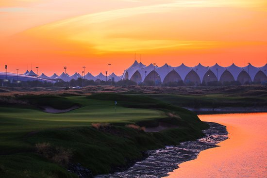 ‪‪Yas Links Abu Dhabi‬: The 8th Hole‬