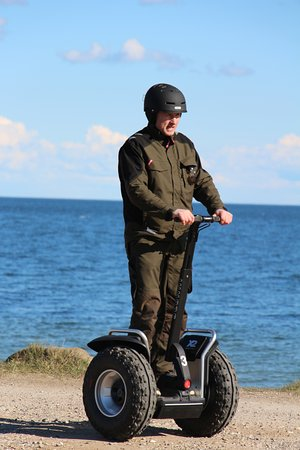 Sydals, Dinamarca: Segway close to the beach